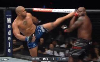 UFC 265 Cyril Gane Interim Heavyweight Champion Defeats Derrick Lewis