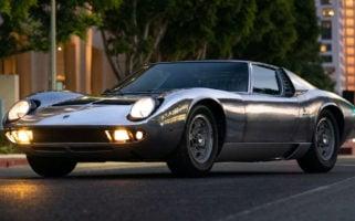 bare metal 1971 Lamborghini Miura P400 S RM Sothebys
