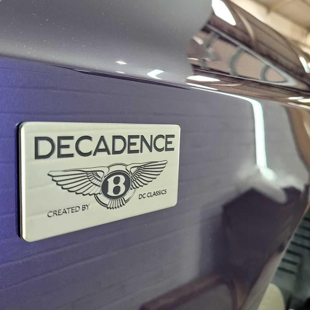 dc customs uk Bentley Continental Flying Spur ute