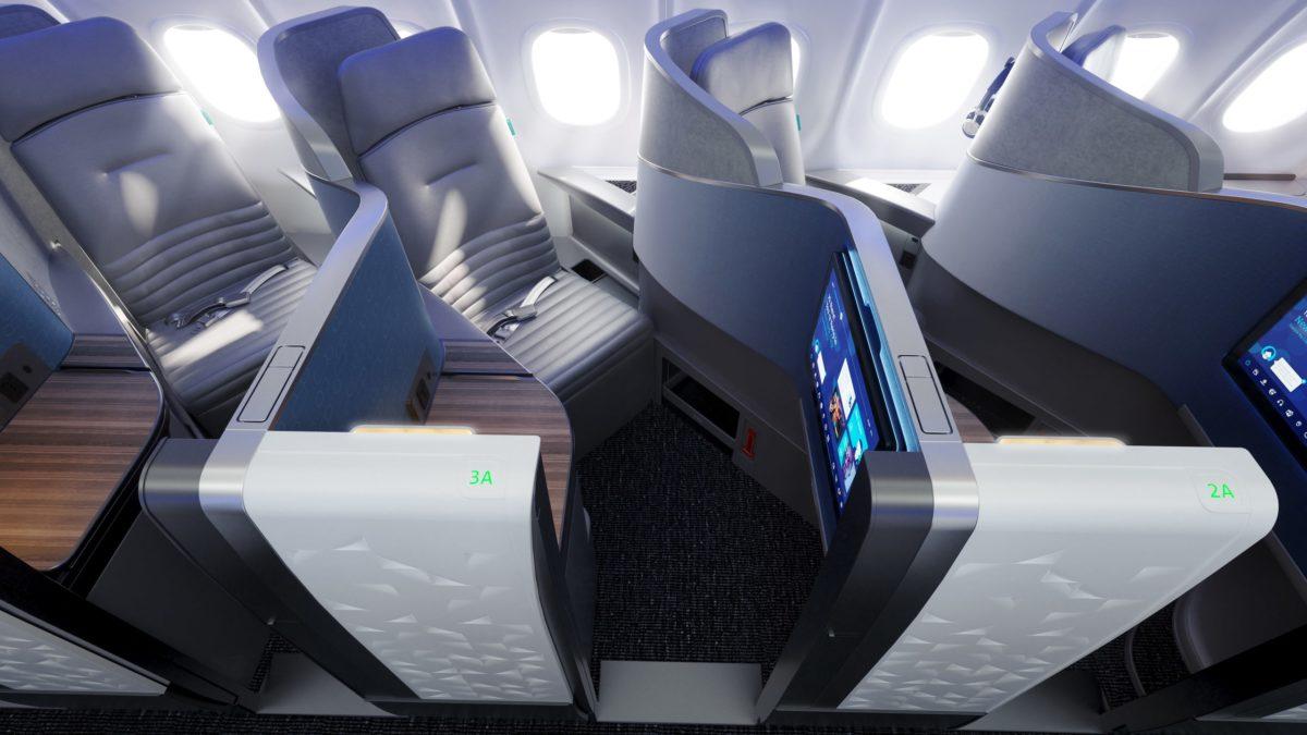 jetblue mint suites row