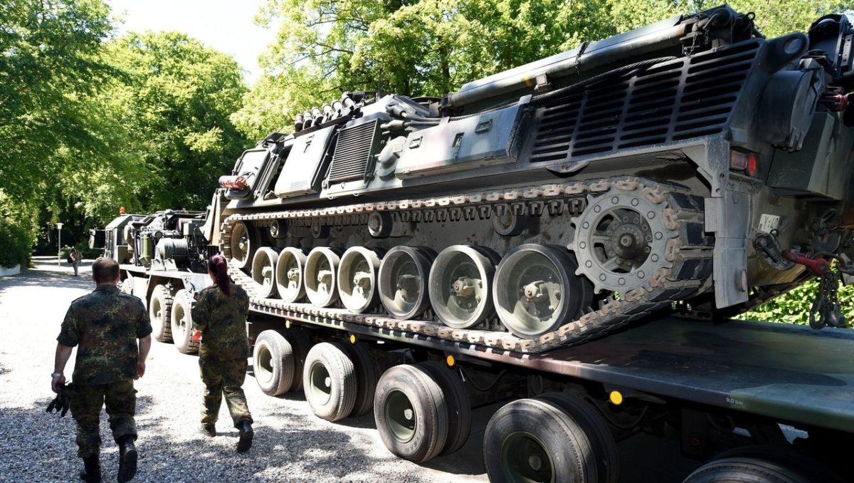wwii panther tank basement german pensioner