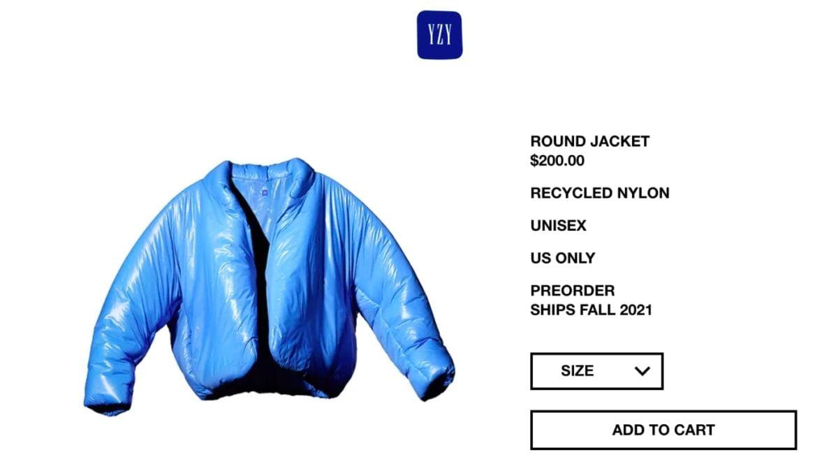kanye west yeezy gap round jacket