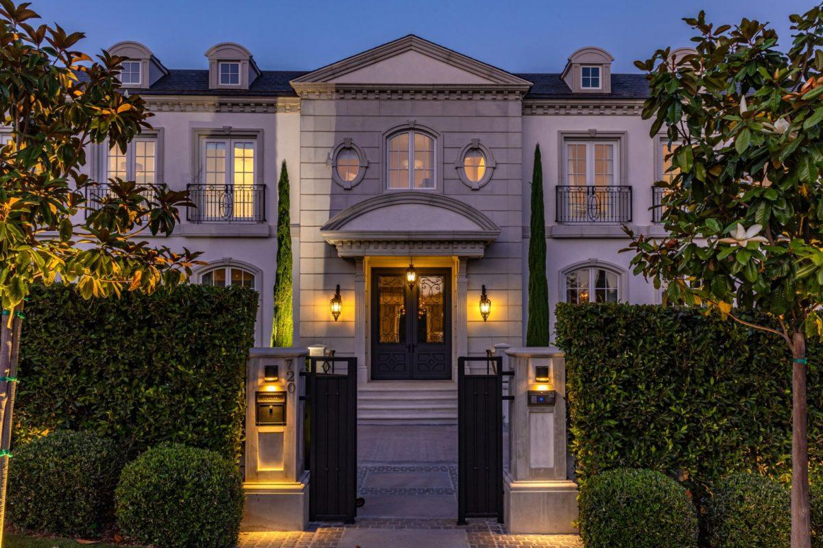 Gyorgy Gattyan Beverly Hills Mansion 720 N ALTA DR