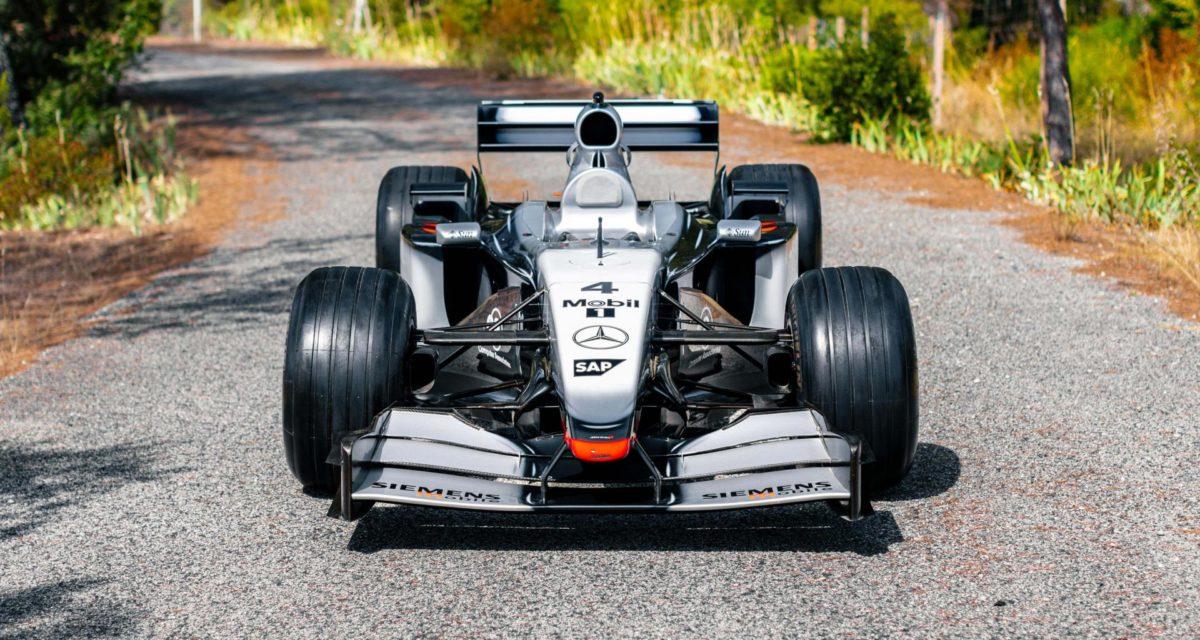 Kimi Raikkonen McLaren MP4-17 Sotheby's