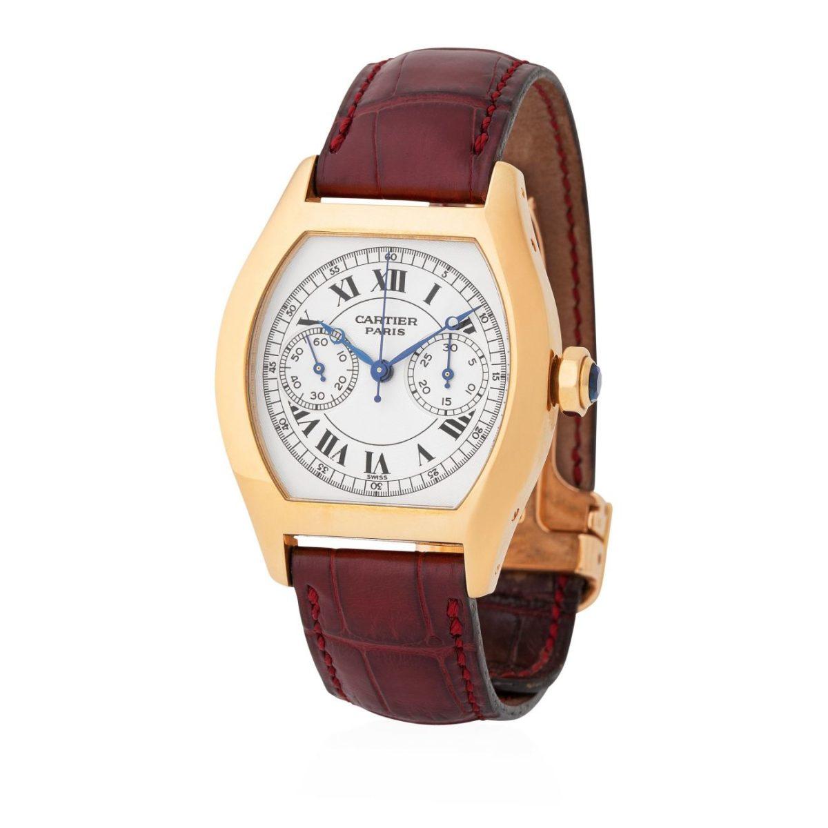 Cartier Tortue Chronograph