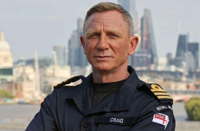 Daniel Craig Honorary Commander British Royal Navy