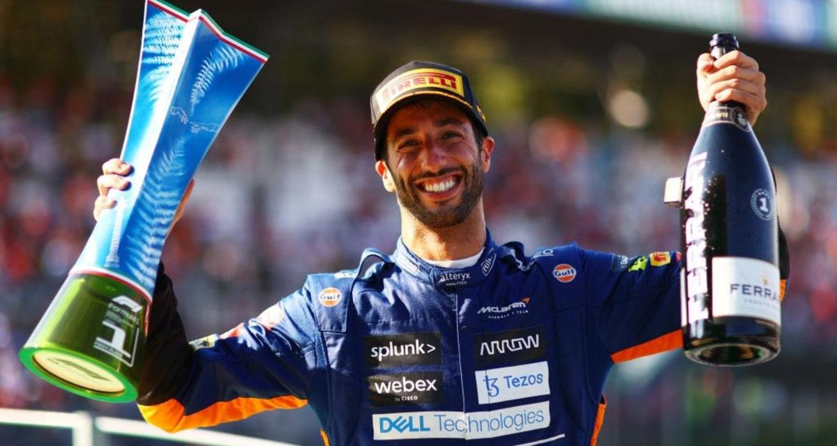 Daniel Ricciardo Italian Grand Prix Monza McLaren first victory since 2012
