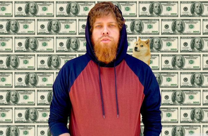 Dogecoin millionaire Glauber Contessoto Cardano ADA
