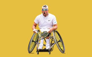 Dylan Alcott Golden Slam 2021 US Open