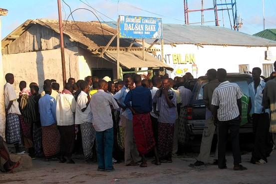 Pirate Stock Exchange Harardhere Somalia