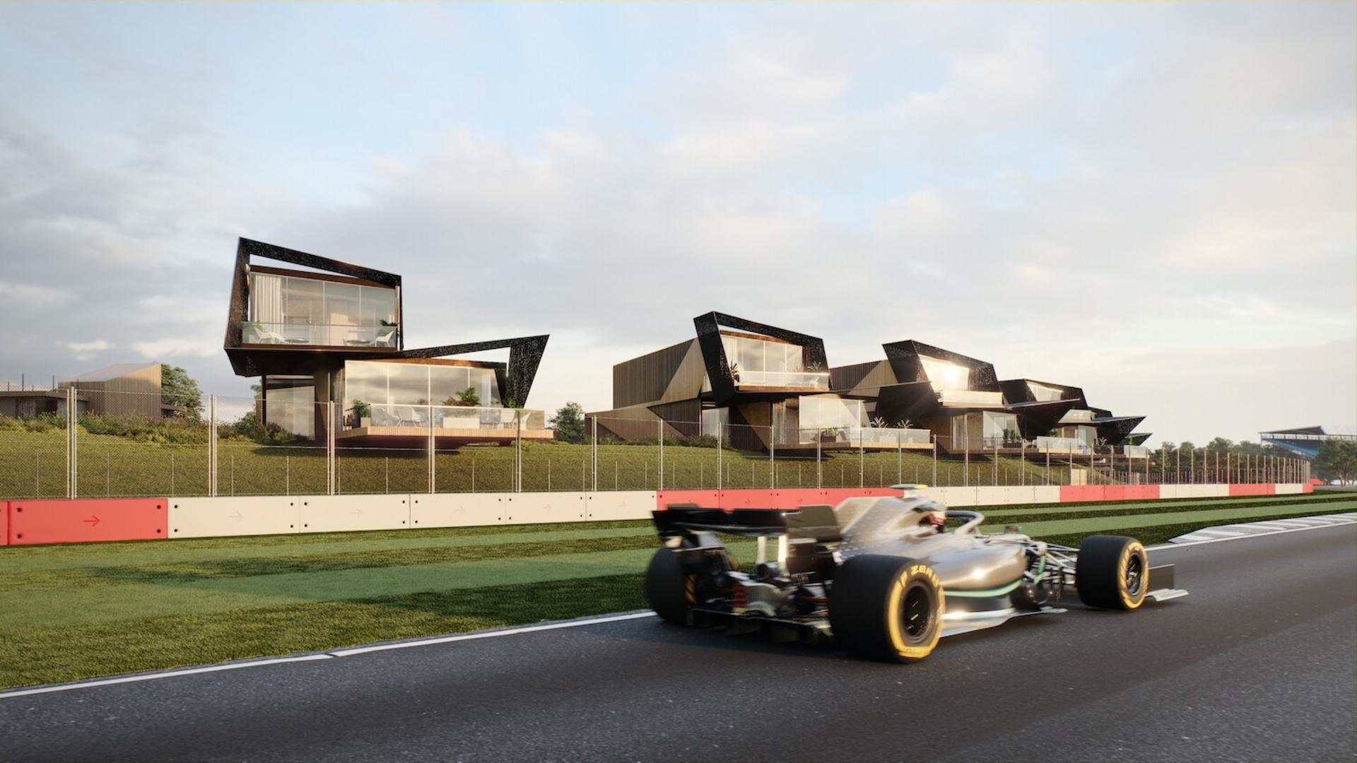 Escapade Silverstone Formula 1 British Grand Prix Apartments