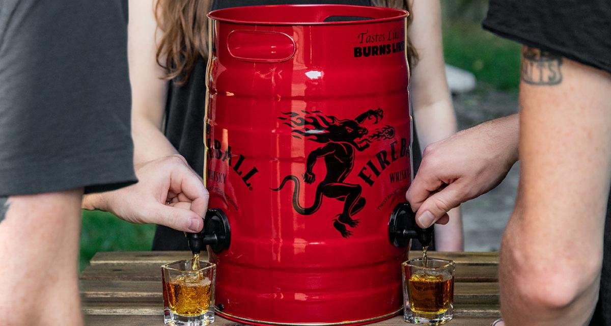 Fireball Whisky Keg FireKeg