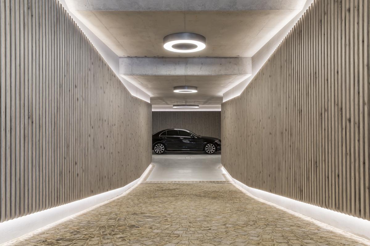 Gallery of Garage by Kenstrom Design Featuring Covet Ever Art Wood Local Australian Architecture Design Sydney NSW Image 2 - Inside Sydney's Most Beautiful Underground Garage