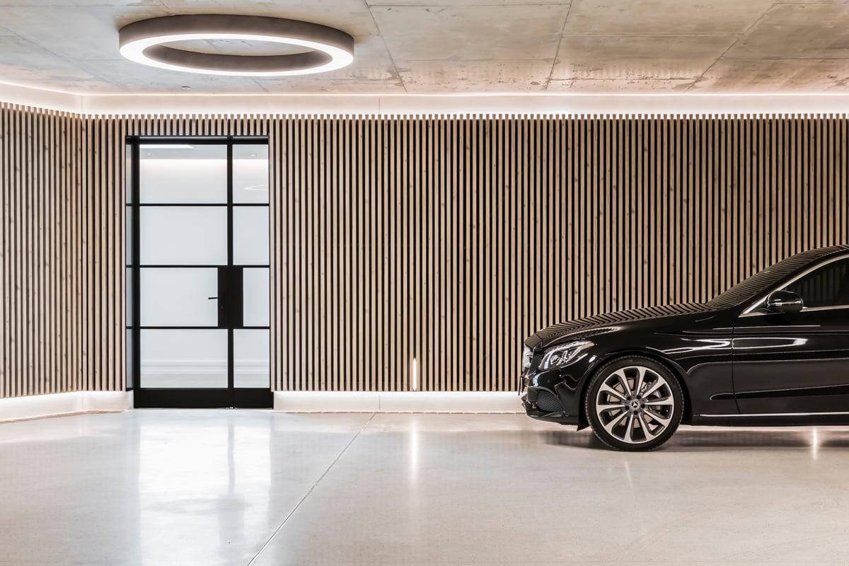 Gallery of Garage by Kenstrom Design Featuring Covet Ever Art Wood Local Australian Timber Design Sydney NSW Image 6 0 Inside Sydney's Most Beautiful Underground Garage