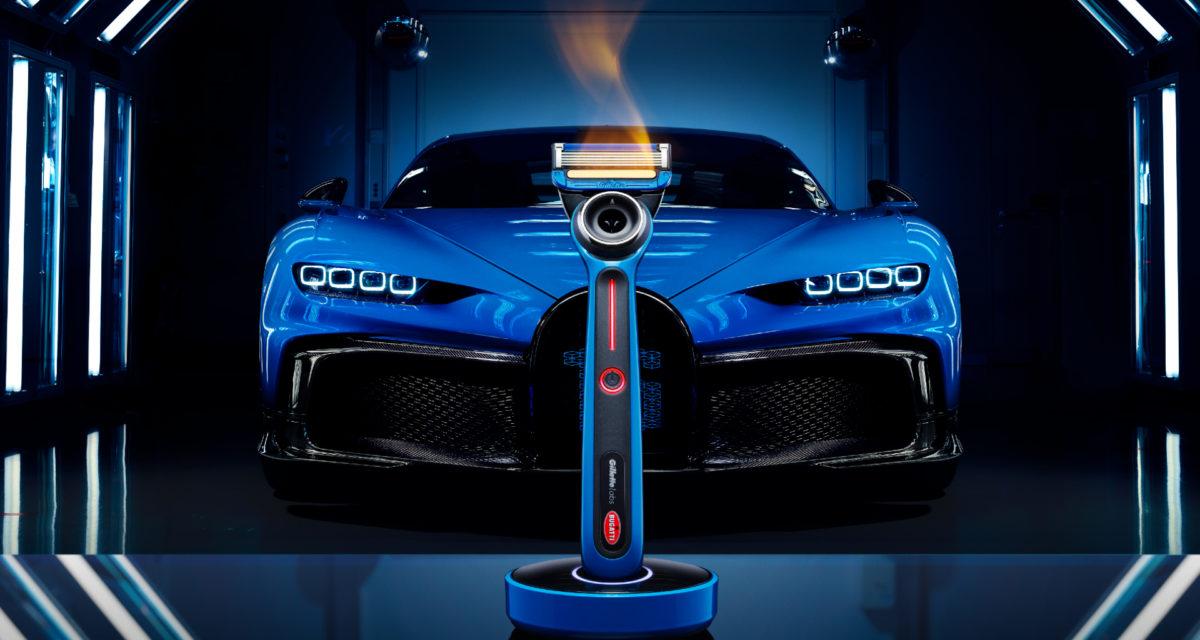 Gillette Bugatti Special Edition Heated Razor