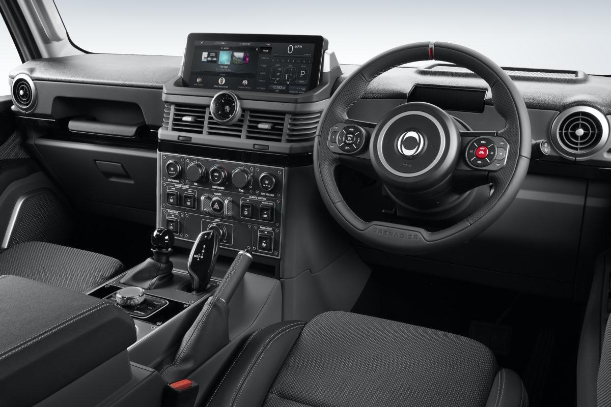 INEOS Grenadier interior 02 Right Hand Drive