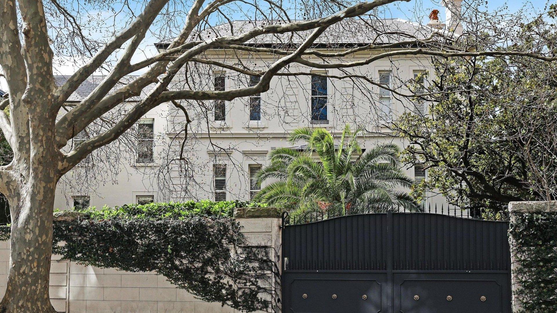 Jenner House marine villa Macleay Street Potts Point Sydney 34 Million