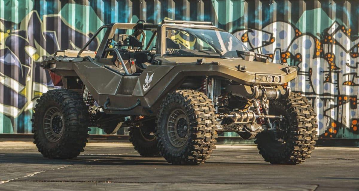 Ken Block Hoonigan Real Life Halo Warthog M12