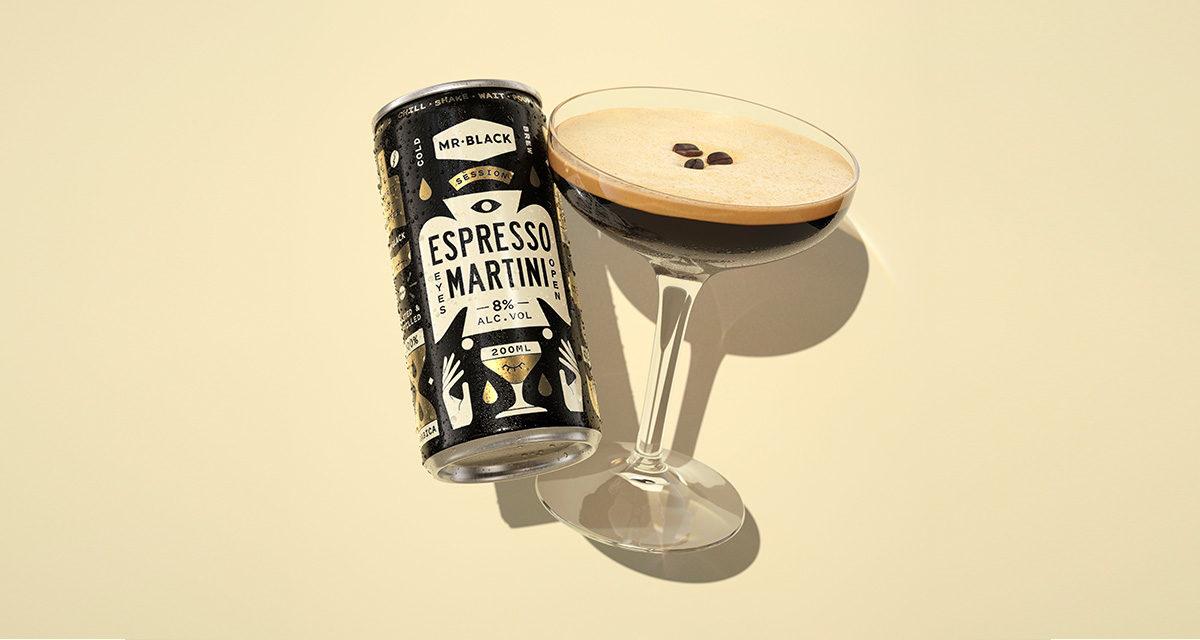 MR Black Espresso Martini Can