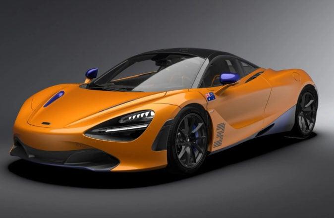 McLaren Daniel Ricciardo Edition 720S