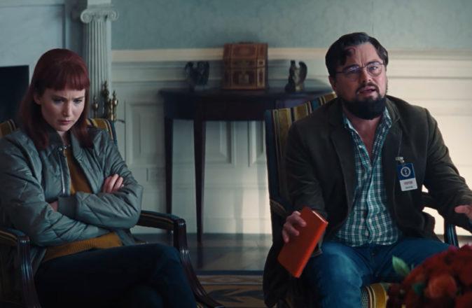 Netflix Dont Look Up Teaser Trailer Leonardo DiCaprio Jennifer Lawrence