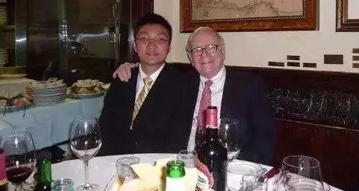 Pinduoduo Inc Colin Huang Warren Buffett