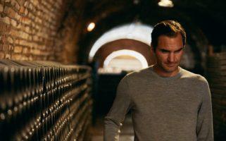 Roger Federer Moet Cellar
