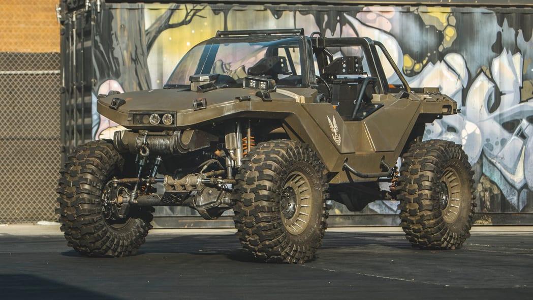 Ken Block Hoonigan Industries Halo Infinite Real-Life Warthog M12 assault vehicle