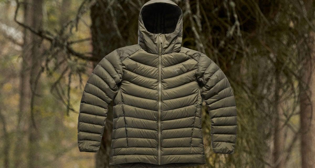 Arc'teryx down hoodie