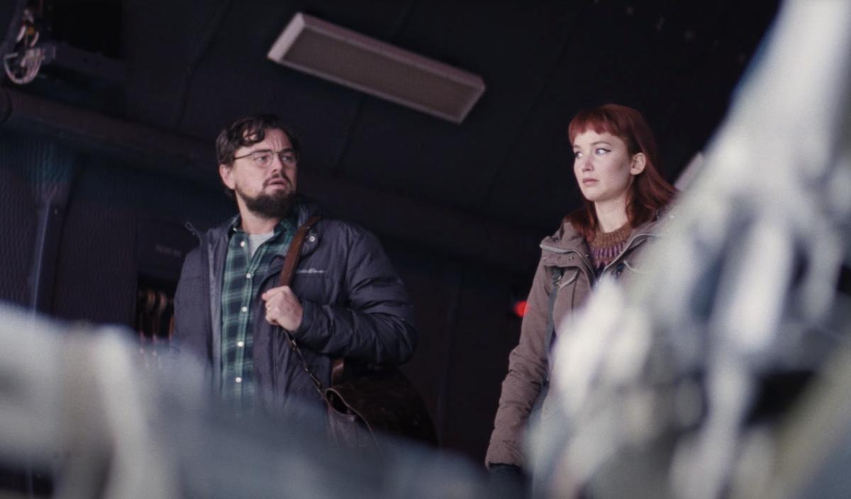 Netflix Don't Look Up Teaser Trailer Leonardo DiCaprio Jennifer Lawrence