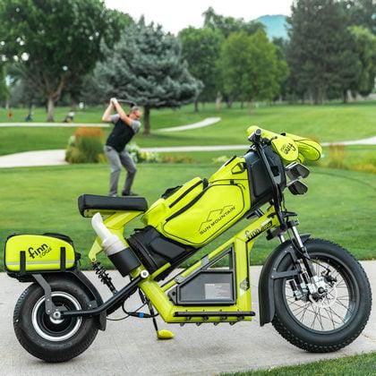 finn scooter's cycle golf bike