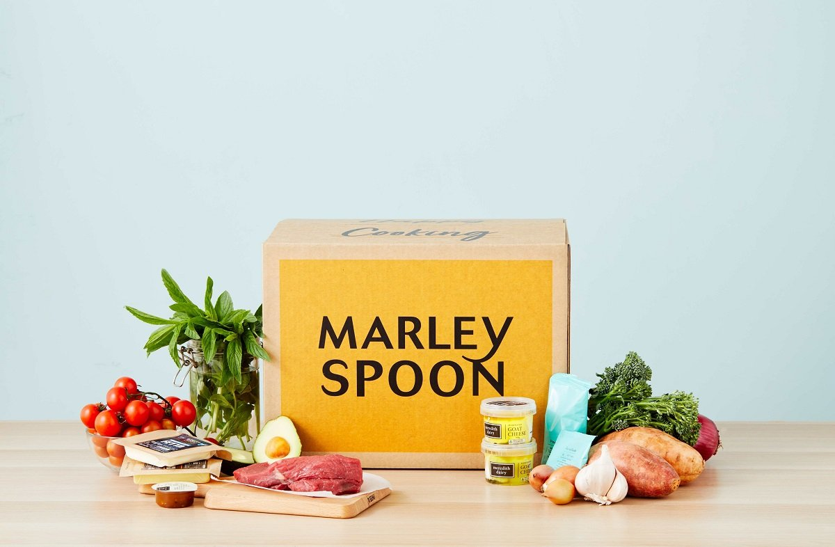 Marley Spoon isn't a prepared meal delivery service, but brings you all the ingredients you need to cook at home