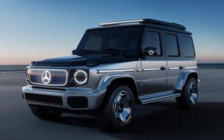 mercedes benz electric G Wagen 1