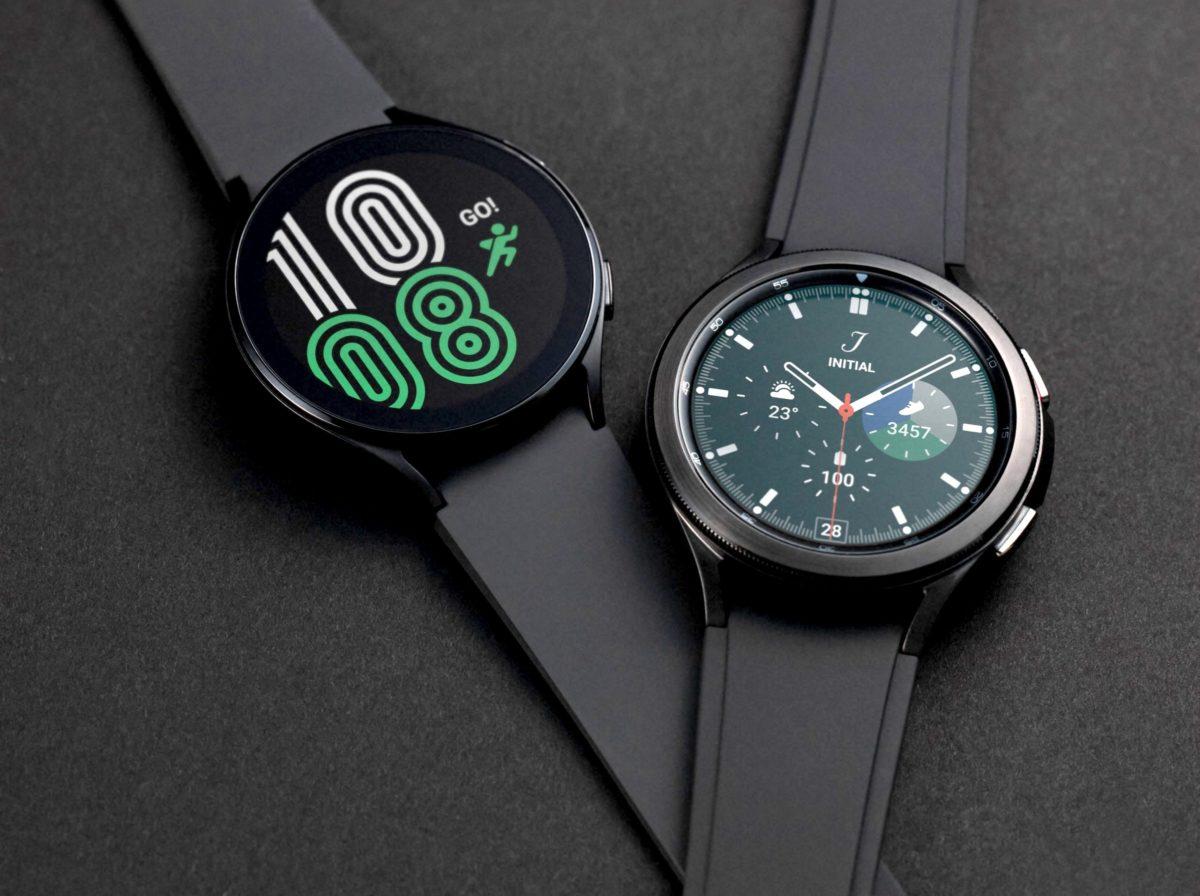 The Samsung Galaxy Watch is