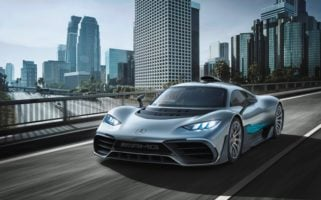 mercedes-amg one production
