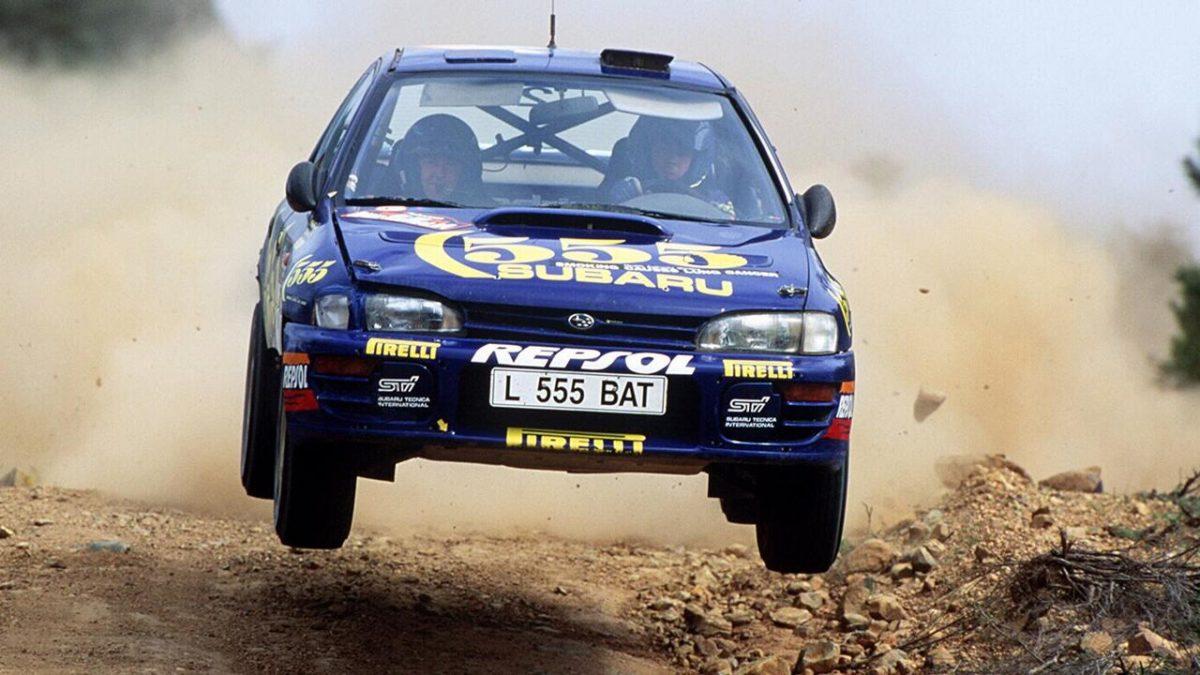 Colin McRae Prodrive Subaru Impreza