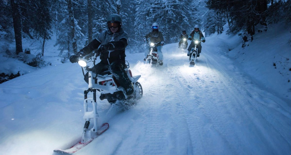 MoonBikes MoonBike - World's First Electric Snowbike