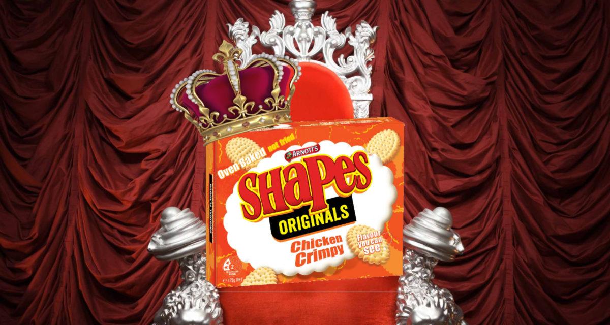 Chicken Crimpy Voted Best Arnotts Shape Flavour