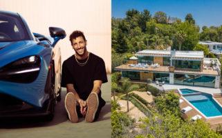 Daniel Ricciardo Los Angeles Mansion - 9040 Alto Cedro Drive