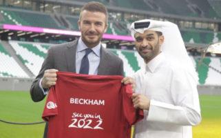 David Beckham Qatar World Cup 2022
