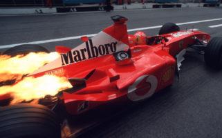 Formula 1 Sustainable Fuel Internal Combustion Engine Michael Schumacher