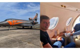 Max Verstappen Private Jet Dassault Falcon 900EX