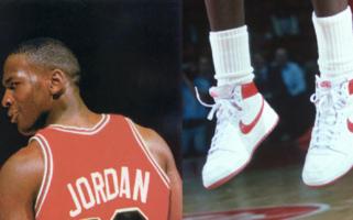 Michael Jordan debut sneakers