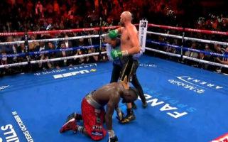 Tyson Fury Deontay Wilder III Results