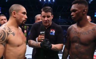 UFC 271 Robert Whittaker vs Israel Adesanya II Eyes February 2022