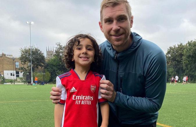 Zayn Ali Salman 4 Year Old Footballer Scouted By Arsenal
