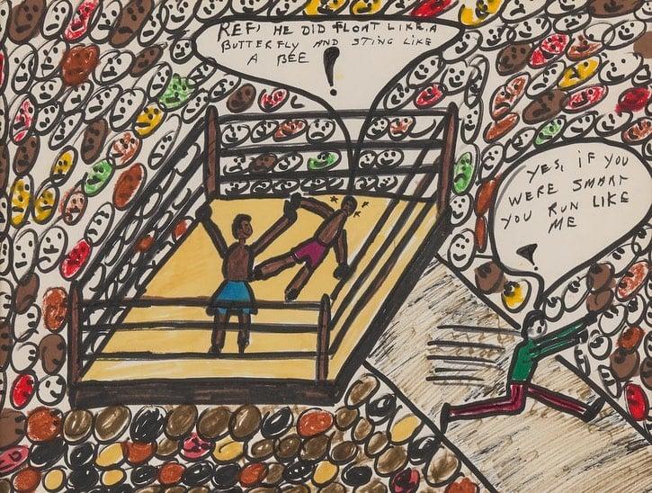 muhammad ali artwork