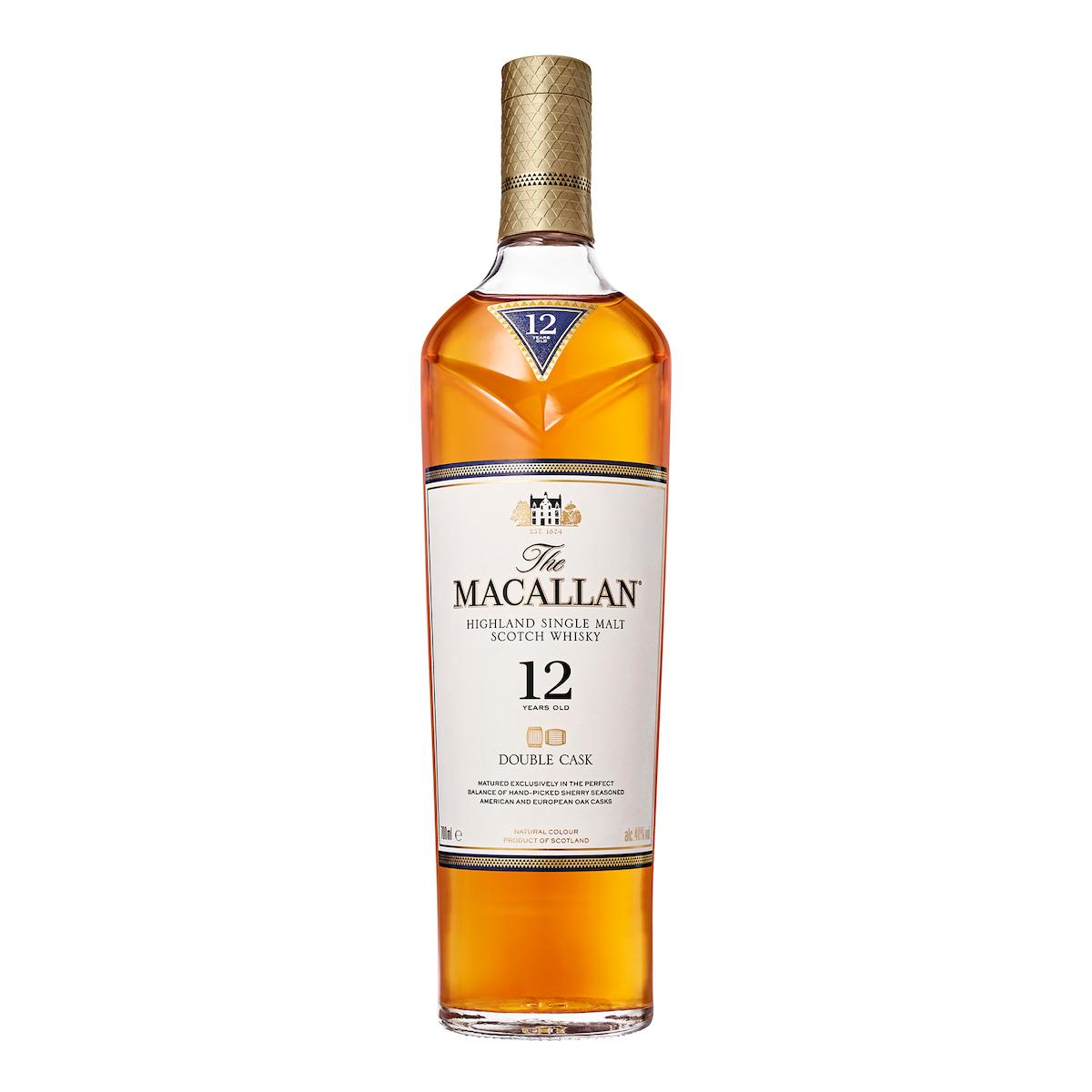 the macallan double cask 12 year old single malt scotch whisky 700ml