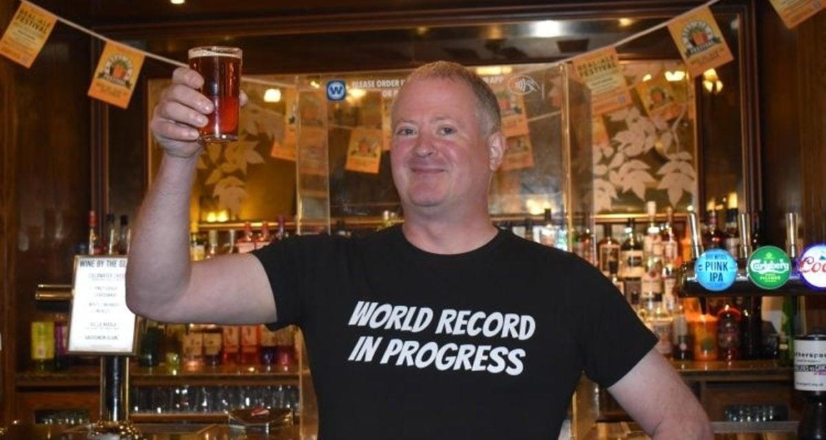 world record pub crawl 24 hours matt ellis